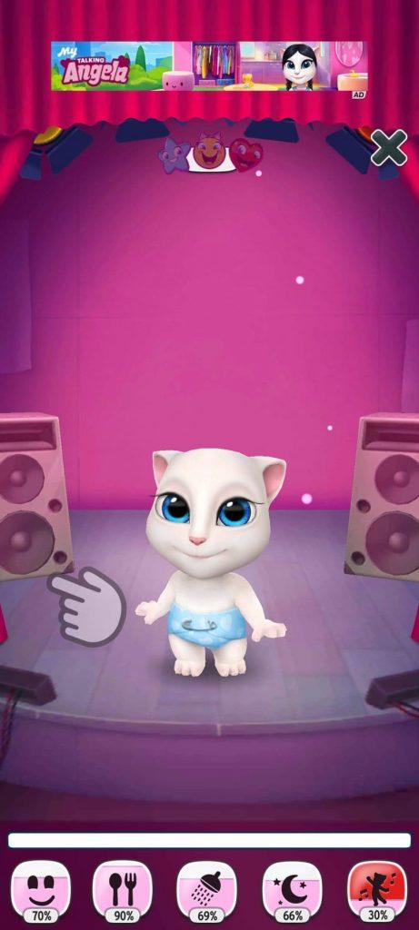غرفة الموسيقة تحميل لعبة القطة المتكلمة للاندرويد