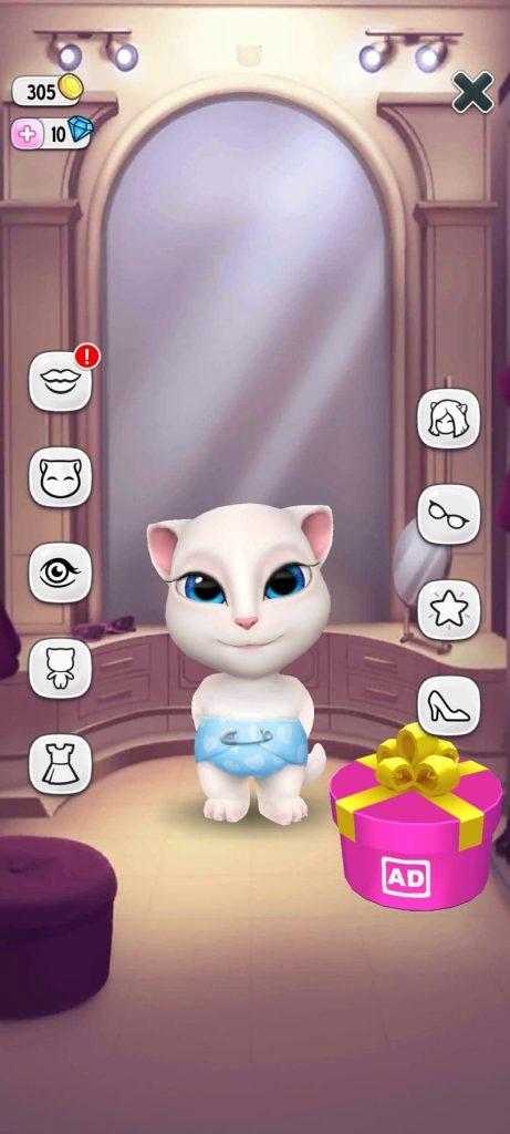 لعبة القطة المتكلمة 2 تحميل لعبة القطة المتكلمة للاندرويد