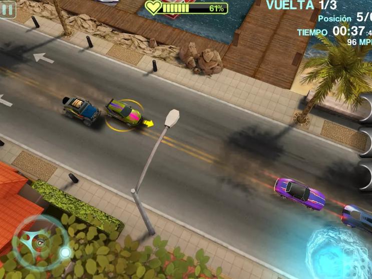 لعبة Blur للاندرويد سباق السيارات الممتعة