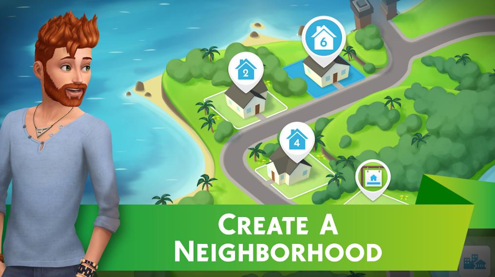 تحميل لعبة The Sims 4 للاندرويد