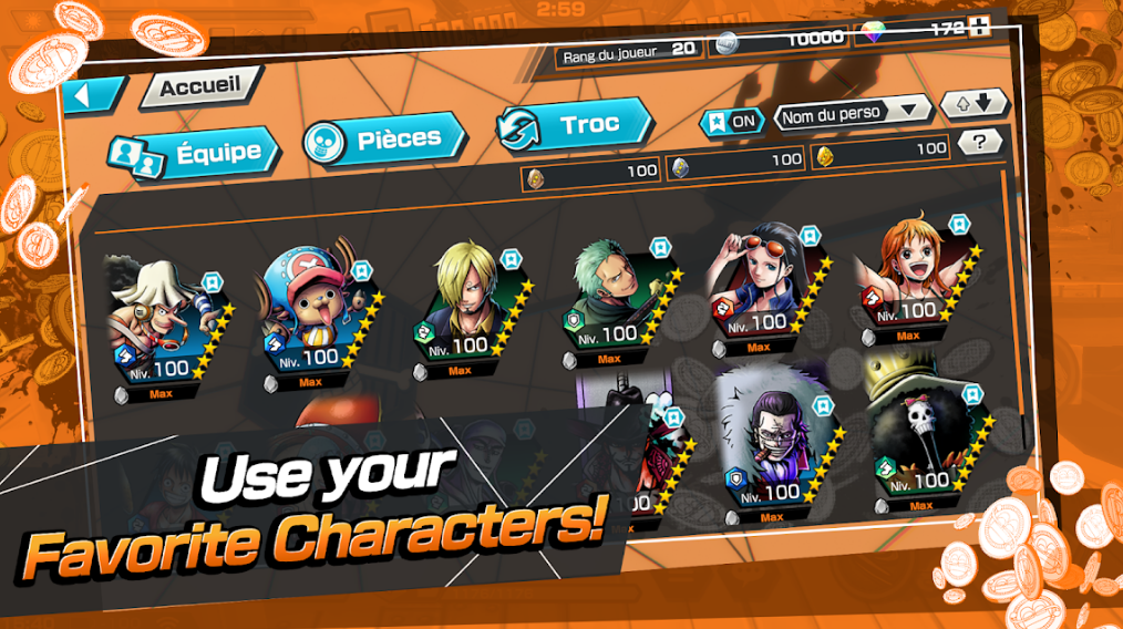 تحميل One Piece Fighting Path للاندرويد