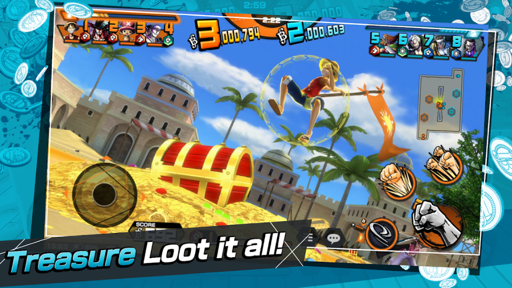 لعبة One Piece Fighting Path للاندرويد