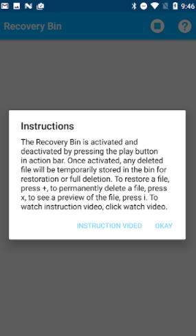 تحميل برنامج Recycle Bin للاندرويد