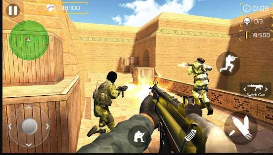 لعبة كونترا سترايك للاندرويد و للكمبيوتر للاندرويد 2021